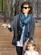 Fluxus Zanni Wrap in Heather Grey as seen on Jessica Alba
