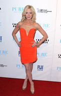 Ani Lee Taryn Dress in Orange as seen on Brittany Snow