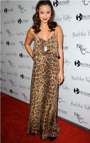 Blu Moon Summer Lovin Maxi Dress in Leopard as seen on Jamie Chung ...