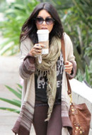 Tiger Lily Jewelry Boho Tusk 36 inch Necklace as seen on Vanessa Hudgens