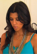 Tiger Lily Jewelry Mixed Metal Ethiopian Necklace as seen on Kourtney Kardashian
