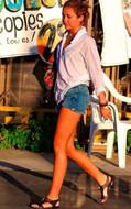 Siwy Denim Loveless Camilla Cut off Shorts in Loveless as seen on Miley Cyrus