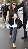 Jet by John Eshaya Bolt Pocket Skinny Jean in Dark Clean as seen on Nicole Richie and Ashley Tisdale