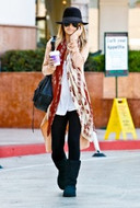 Jet by John Eshaya Blanket Jacket as seen on Nicole Richie