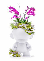 Munny Giant with Orchids