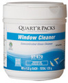 Window Cleaner Quart'R Packs, 4 X 80 X 1.5 g