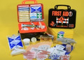 First Aid Kit, 18PB - Road - Poly Black, 18 Unit