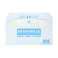 Boardwalk® Premium Toilet Seat Covers, 1000/case