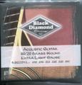 Black Diamond 80/20 Guitar Strings, Extra Light
