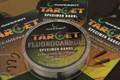 Gardner Target Fluorocarbon Hooklink- 10lb 25m Spool
