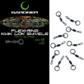 Gardner Covert Kwik Lok Flexi-Ring Swivels Size 8
