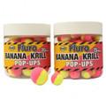 Dynamite Baits Banana & Krill Fluro Two Tone Pop-Ups