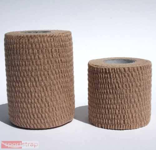 SportStrap Cotton Hand-Tear Stretch Tape - 2 Roll