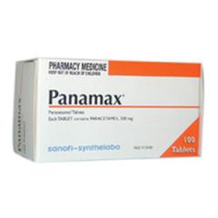 Panamax Tablets - 500mg -100 packet