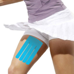 Kinesiology Tape Pre Cut Thigh Support - DrK