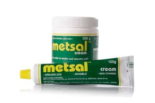 Metsal Cream - Tube and Tub