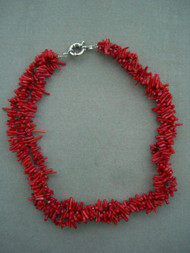 Red Natural Coral Beads