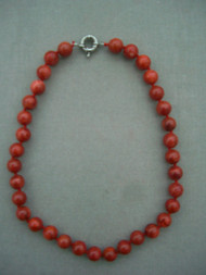 Natural Round Coral Beads