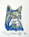 """""""Wildcat Glory"""" hand signed by Dan & Cheri Issel, Jack """"Goose"""" Givens, and Kenny """"Sky"""" Walker"""