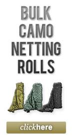 Bulk Camo Netting Rolls