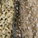 Desert Camo Netting - Pattern Closeup - 2 Layers of Netting