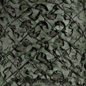 Olive Drab Surplus Camo Netting - Pattern Closeup