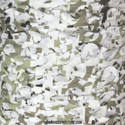 Digital Snow Camo Netting - Pattern Close-up