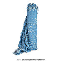 "Blue ""Sky"" Bulk Roll Camo Netting, Fire Rated, Ultra-Lite"