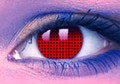 UV Red Mesh Contact Lenses