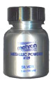 Silver Metallic Powder by Mehron 14g