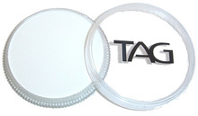TAG Pearl White 32g. Blend with any colour to add a pearlescent sheen or on it's own for a soft pearlescent shine.