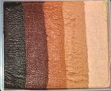 Skinz 50g by Always Wicked Art Earth, Brown, Mid Brown, Bisque and Ivory