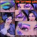 Ultimate Graffitti Eyes Stencil Kit