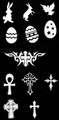 Easter-Religious Stencils