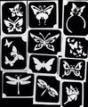 Butterfly & Dragonfly Stencils