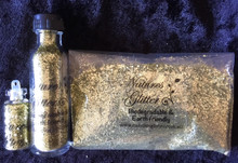Natures Glitter Yellow Gold Medium Glitter