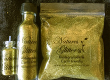 Natures Glitter Yellow Gold Fine cosmetic Glitter