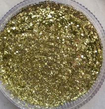 # Golds- Fine, Medium and Chunky BioGlitter mixed together