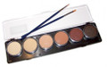 TAG skin Palette 6 x 10g Ivory, Beige, Bisque, Mid Brown, Regular Brown, Earth