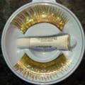 Holographic Gold Eyelashes