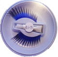 Blue Eyelashes with Black Tips with adhesive