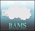 BAM Cloud Stencil 2036