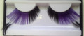 Purple with Black Extended Feather Eyelashes