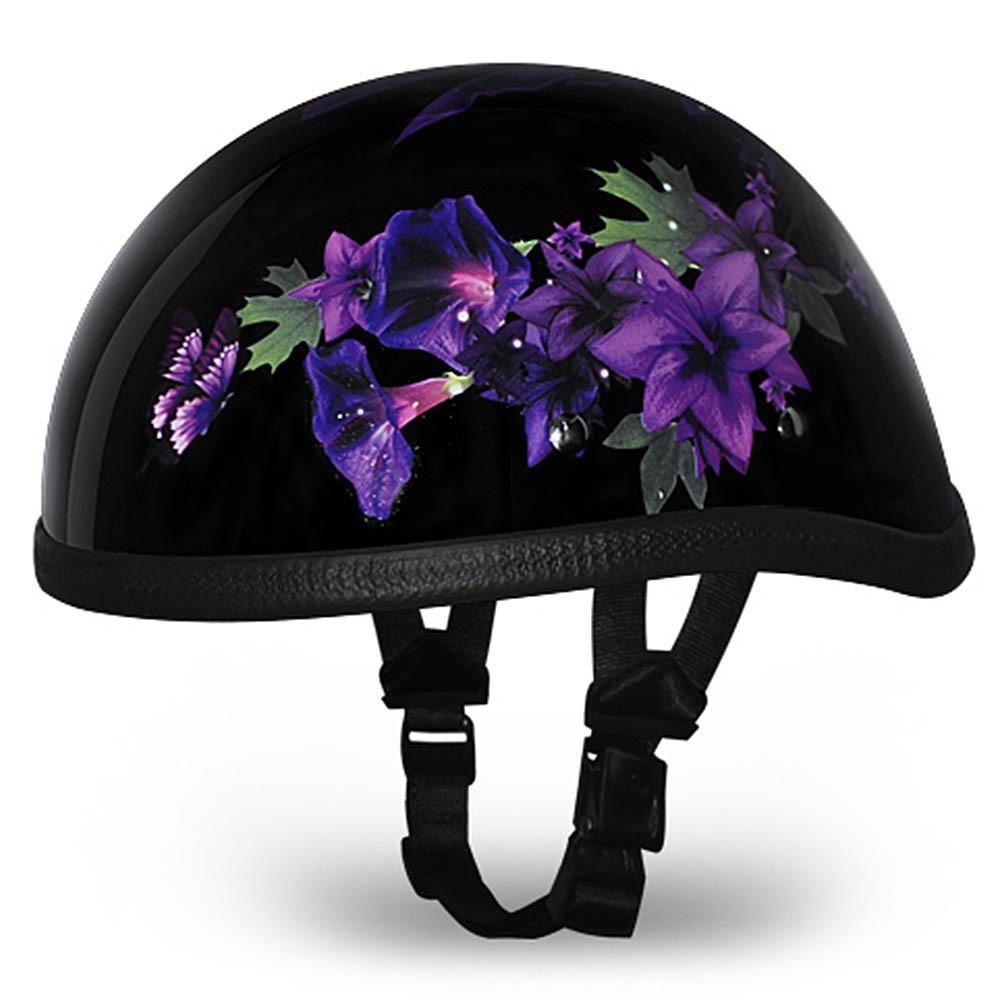 Ladies | Womens Fairy Novelty Motorcycle Helmet by Daytona - Size XS-2XL