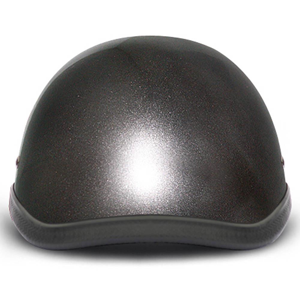 Gun Metal Grey Novelty Motorcycle Helmet   Novelty Helmets   by Daytona XS-2XL