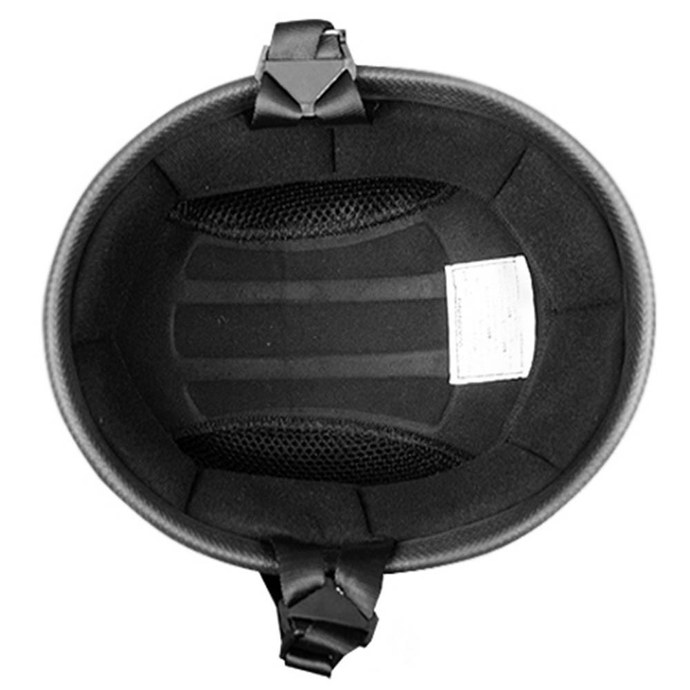 Matte Black Classic EZ Rider | Flat Black Novelty Helmet | by Daytona XS-2XL