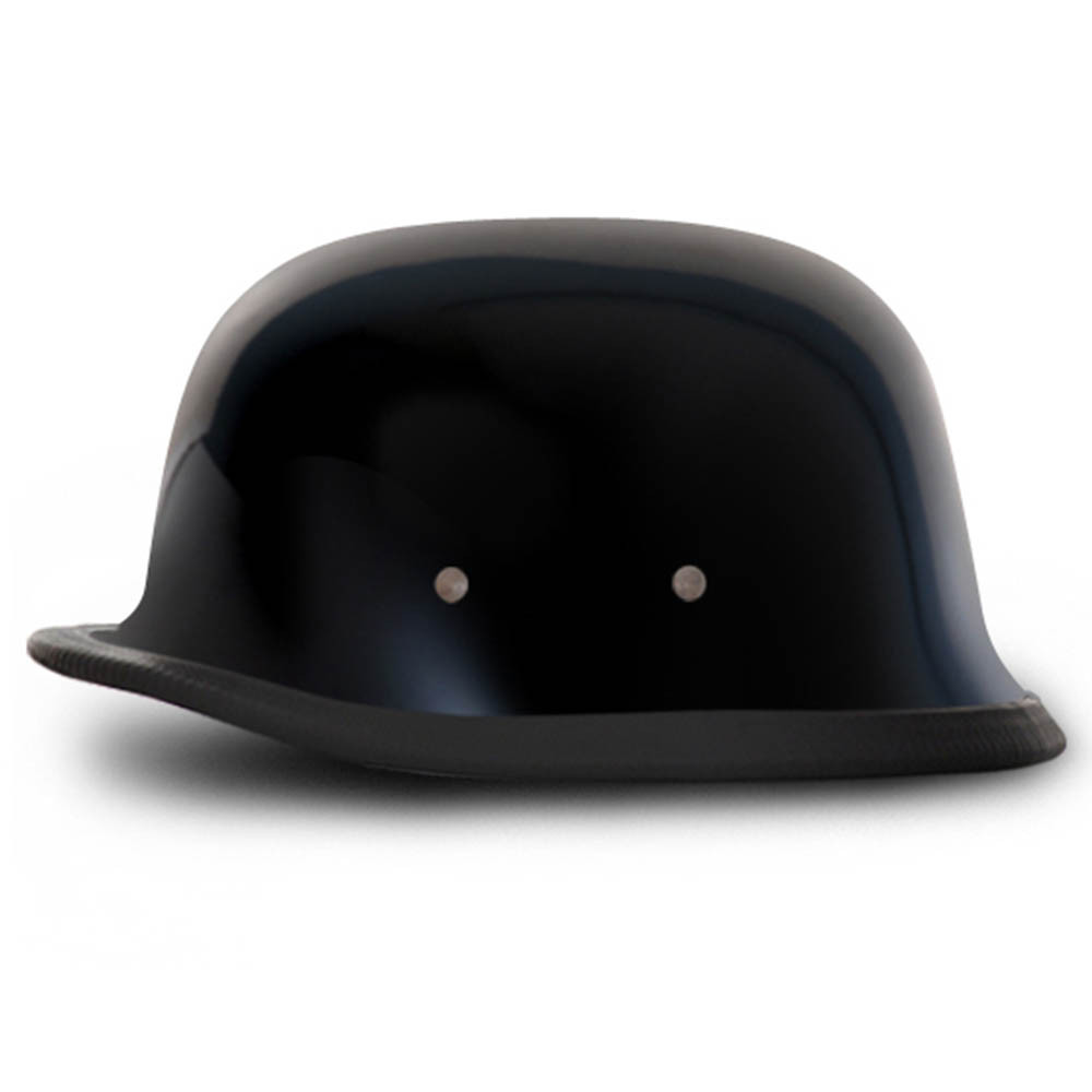 Gloss Black German Novelty Helmet | Novelty Motorcycle Helmet by Daytona XS-2XL