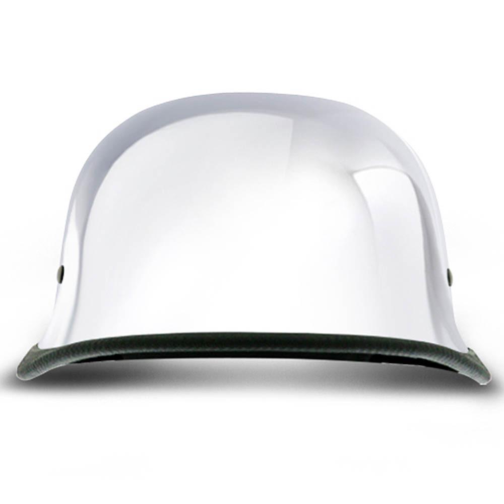 Real Chrome German Novelty Helmet | Novelty Motorcycle Helmet by Daytona XS-2XL