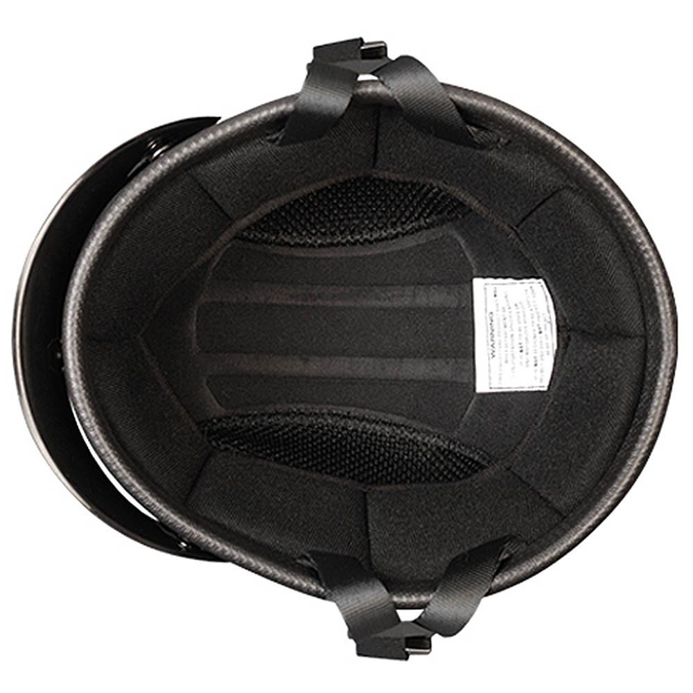 Flat Black Smokey w Visor Novelty Motorcycle Helmet by Daytona Helmets XS-2XL