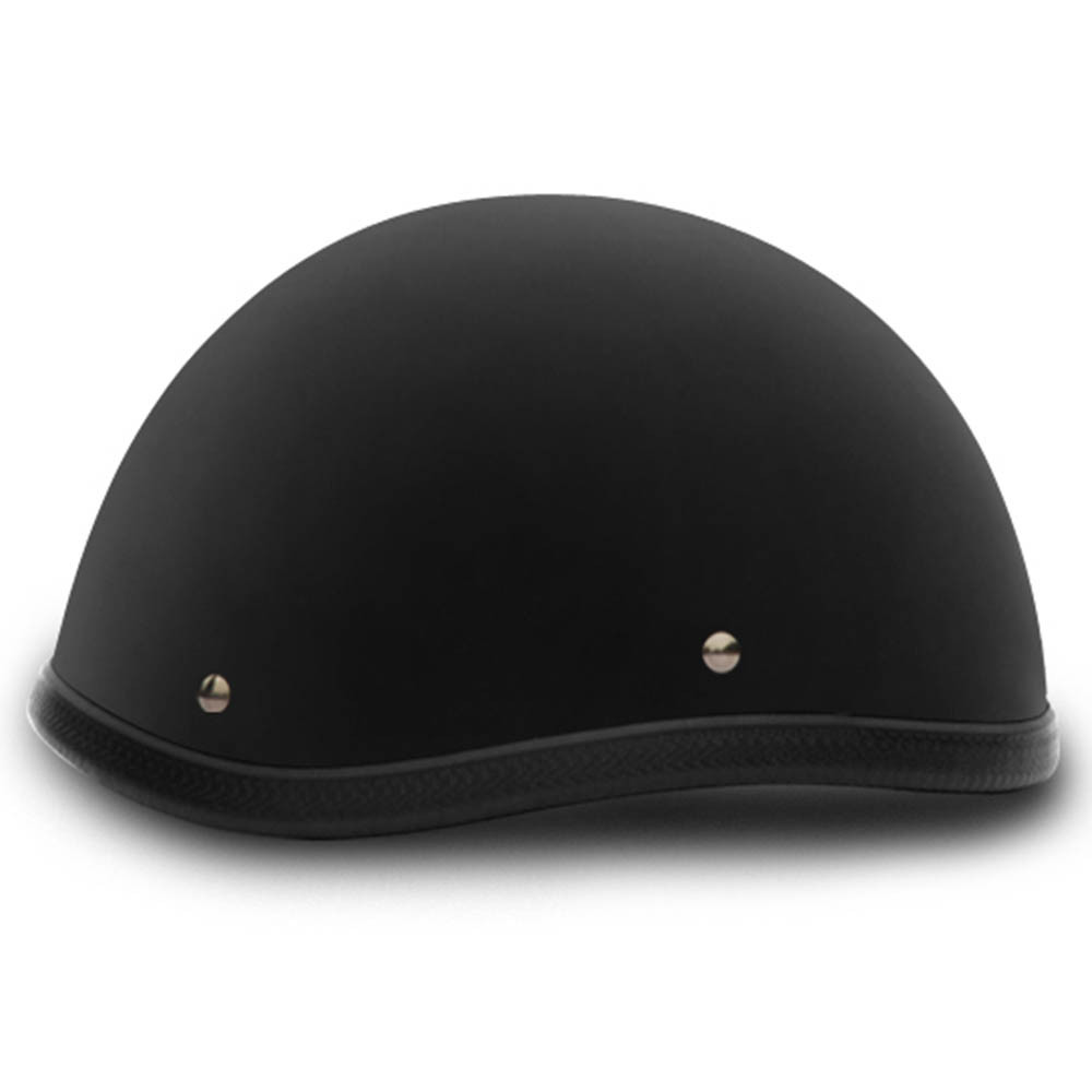 Flat Black Smokey Style Novelty Motorcycle Helmet by Daytona Helmets XS-2XL